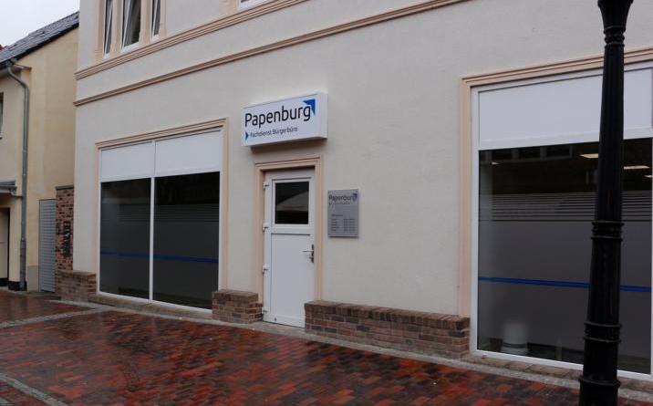 Zukünftig ist das Bürgerbüro in der Friederikenstraße 11 in Papenburg untergebracht. Foto: Stadt Papenburg