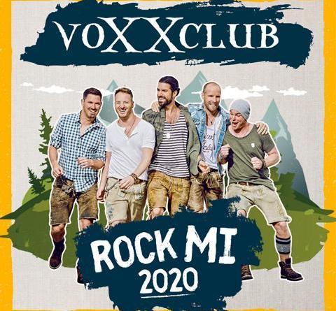 """voXXclub veröffentlichen mit """"Rock Mi 2020"""" die neue Single aus ihrem kommenden Best Of Album """"Rock Mi - Die größten Hits"""""""