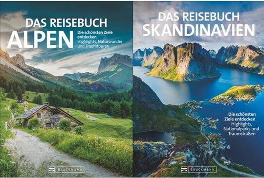 Neue Reise-Inspirationen - Alpen und Skandinavien