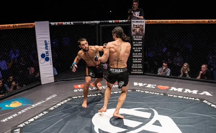 WE LOVE MMA gratuliert Dustin Stoltzfus zum Sieg bei Dana White's Contender Serie - Foto: N.Kryvosheyev