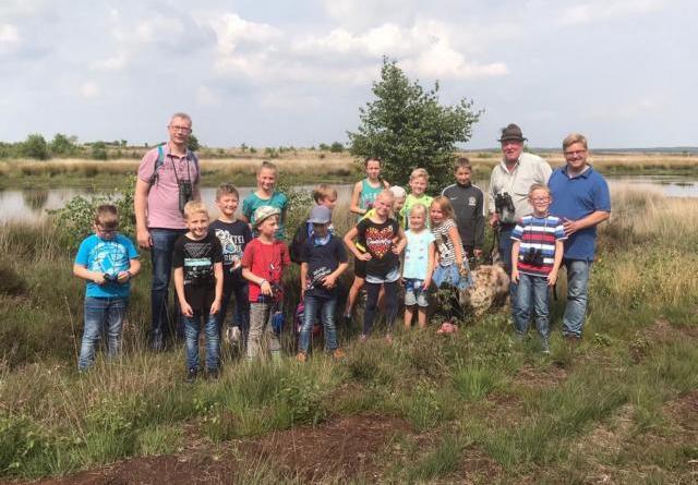 Die heimische Flora und Fauna im Tinner Loh war auch im Harener Ferienpass 2020 ein Thema für die Kinder. Foto: Marina Hiebing.