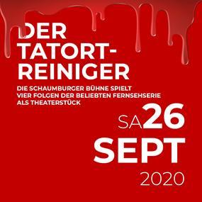 """Theaterstück """"Der Tatortreiniger"""" wieder in Meppen - 26.09.20"""