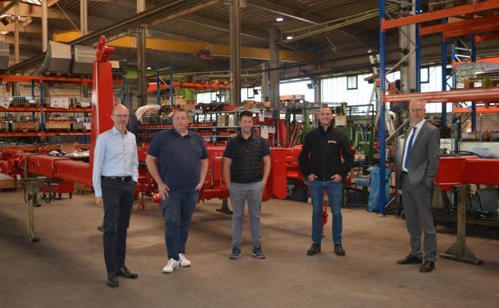 Kröger Nutzfahrzeuge eröffnet neue Niederlassung in Groß Hesepe - Foto: Gemeinde Geeste