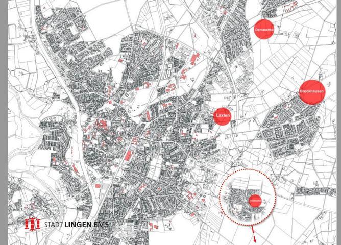 Lingen: Mehr als 300 Bauplätze in den nächsten sechs Monaten - Neue Wohnbaugebiete in Bramsche, Laxten, Brockhausen und Damaschke - Foto: Stadt Lingen
