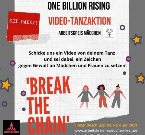 One Billion Rising – Eine Milliarde erhebt sich - Foto: Stadt Papenburg