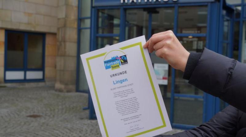 Erfolgreiche Titelerneuerung: Lingen weiterhin Fairtrade-Stadt - Foto: Stadt Lingen