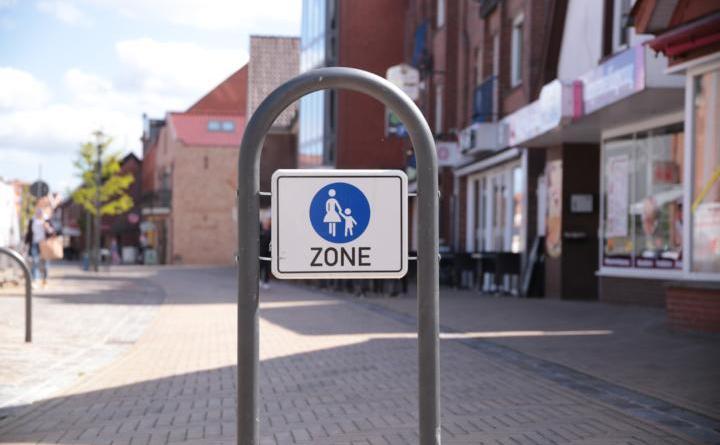 Vorerst kein gemütliches Bummeln in der Harener Innenstadt. Aufgrund der Corona-Regelungen wird die Einrichtung der Fußgängerzone verschoben. Foto: Stadt Haren (Ems)