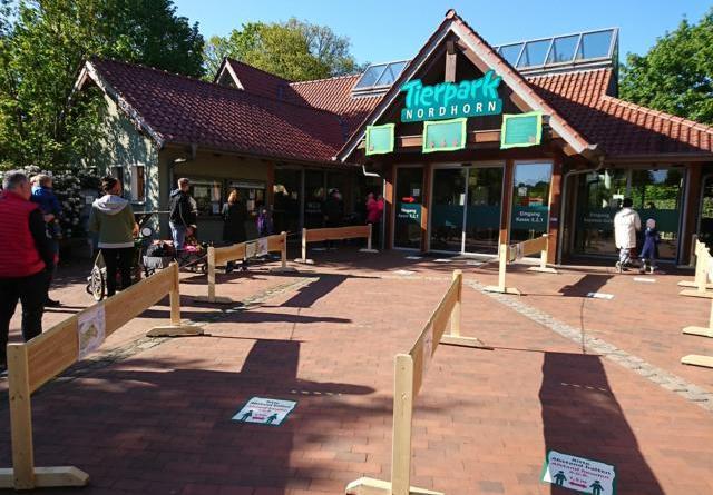 Ab Montag wieder in den Tierpark Nordhorn – Zugang nur mit Onlinereservierung - Foto: Franz Frieling