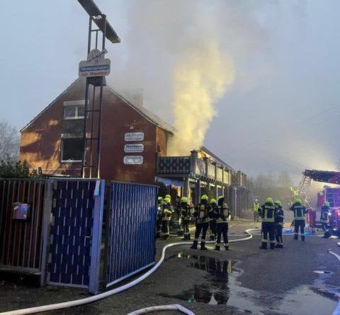 Wohnungsbrand an der Gutshofstraße – Papenburger Feuerwehr im Einsatz - Foto: Stadt Papenburg / Feuerwehr