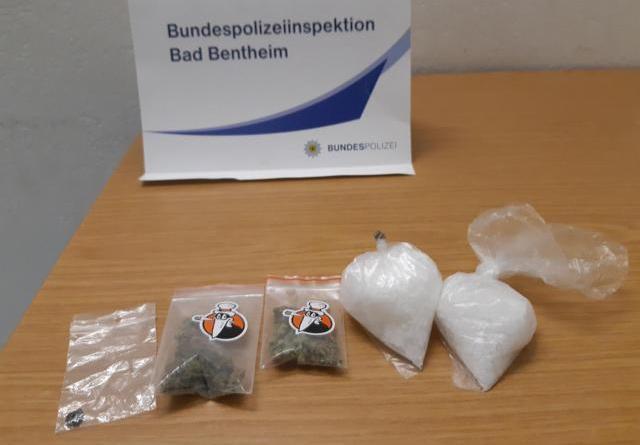 Bad Bentheim: Bundespolizei entdeckt Crystal Meth im Koffer eines 29-Jährigen - Foto: Polizei