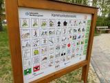 Mehr Inklusion durch Symboltafel auf dem Spielplatz Irisstraße - Foto: Stadt Norhdorn