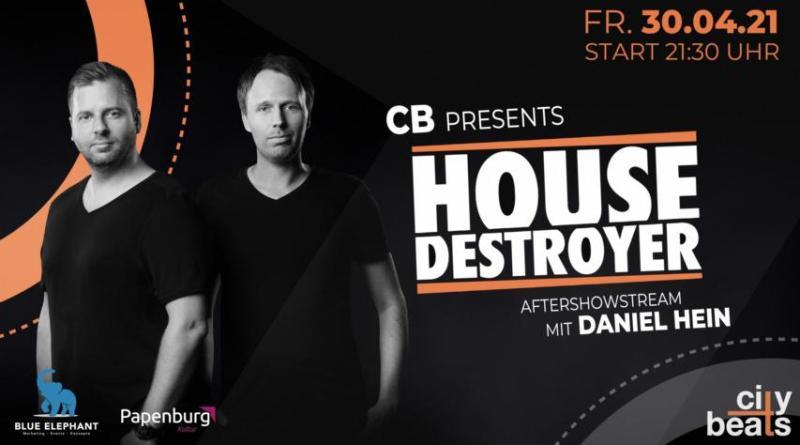 Das international erfolgreiche DJ-Duo Housedestroyer wird beim kommenden Citybeats-Livestream aus dem Forum Alte Werft am 30. April um 21:30 Uhr zusammen mit Daniel Hein auflegen. Foto: Stadt Papenburg