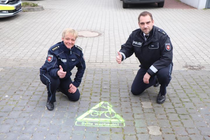 Nicola Simon, Robert Raaz - Foto: Polizei