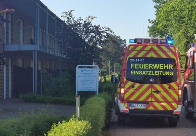 """Dalum - Feuerwehreinsatz am Wohn- und Pflegezentrum """"Am Park"""" - Foto: NordNews.de"""