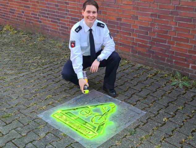 Sina Selter - Emsland/Grafschaft Bentheim - Polizei kontrolliert falsch fahrende Fahrradfahrer - Foto: Polizei