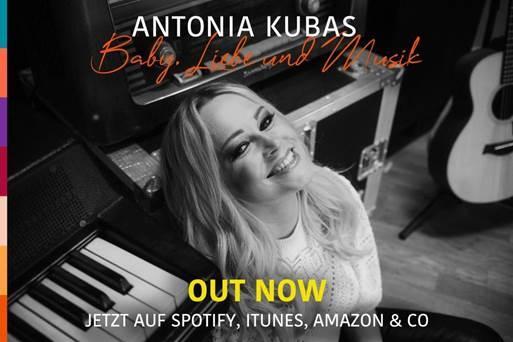 """Antonia Kubas """"Baby, Liebe & Musik"""" – ein hoffnungsvoller Ausblick auf einen unbeschwerten Sommer"""