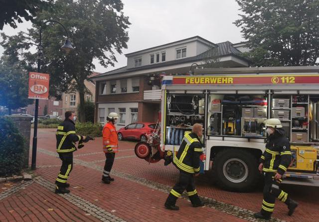 Holthausen Biene - Feuerwehreinsatz am Sonntagmorgen - 25-jähriger verletzt - Foto: NordNews.de