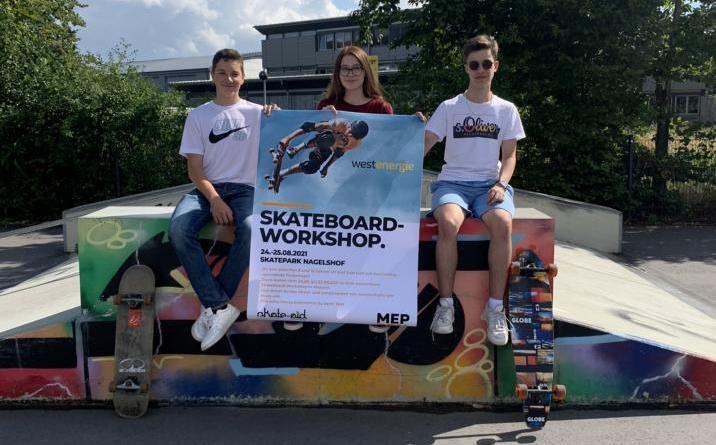 Meppen. Am 24. und 25. August findet ein kostenloser Skateboard-Workshop am Skatepark Nagelshof für Kinder und Jugendliche im Alter von 8 bis 16 Jahren statt. Gesponsert wird das z - Foto: Stadt Meppen