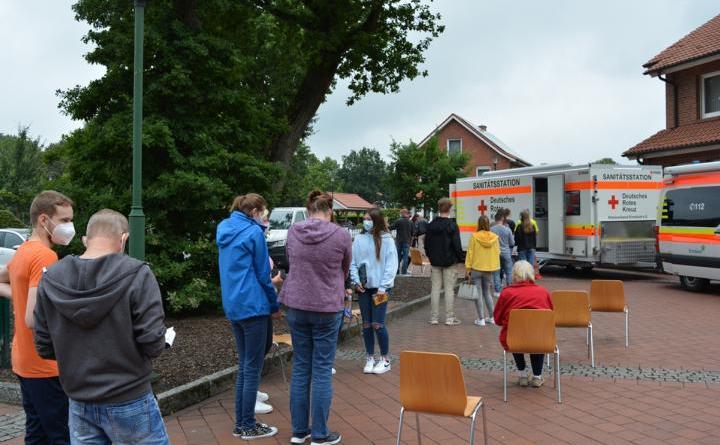 Impfaktion der Gemeinde Geeste ein voller Erfolg - Foto: Gemeinde Geeste
