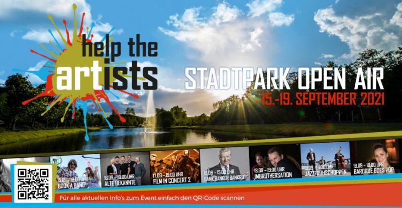Fünf Tage volles Programm bietet das zweite Help the Artists | Stadtpark Open Air vom 15. bis zum 19. September. Foto: Stadt Papenburg