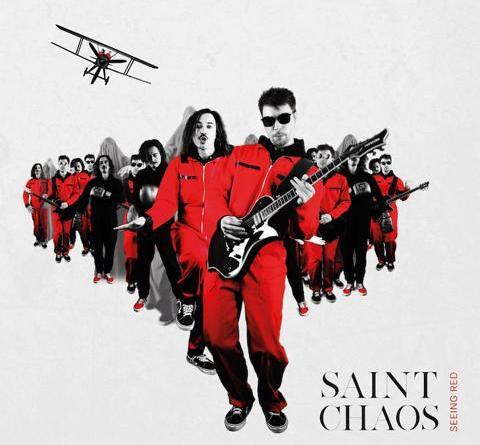 """SAINT CHAOS: Berliner Duo veröffentlicht Debüt-Album """"Seeing Red"""""""