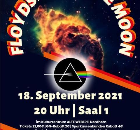 Pink Floyd Tribute-Show im Kulturzentrum Alte Weberei