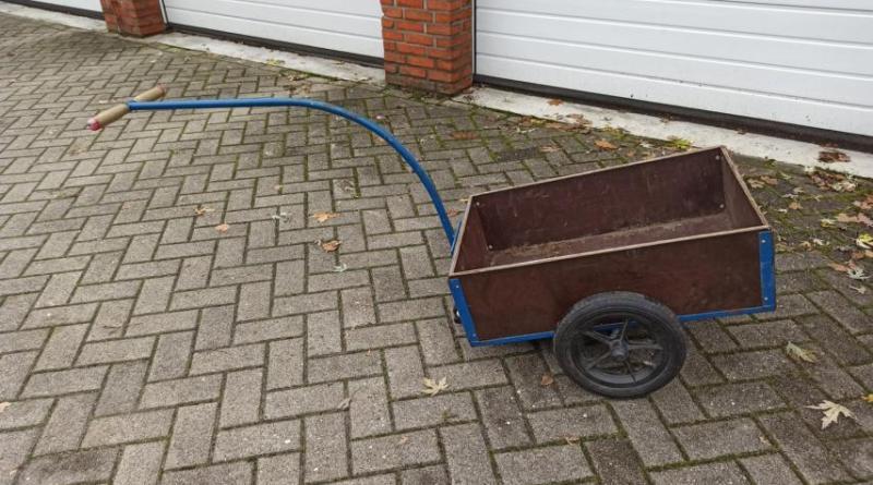 Nordhorn - Blauer Handwagen sichergestellt