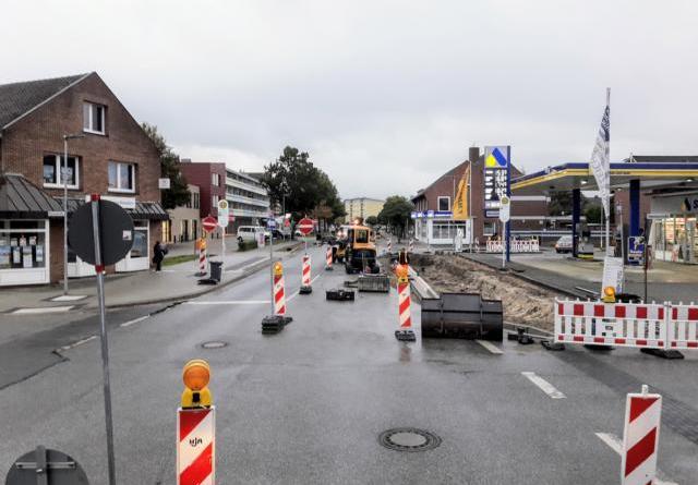 Am Gildehauser Weg wird gefräst und asphaltiert - Vollsperrungen und Halteverbote ab dem 20. Oktober - Foto: Stadt Nordhorn