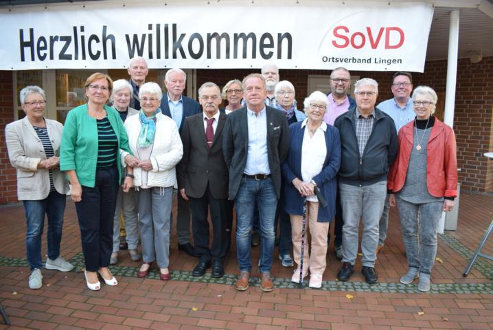 Der Vorstand des SoVD-Ortsverbandes Lingen. Foto: SoVD