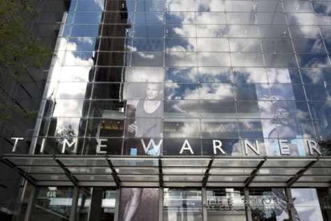 米ニューヨークにあるタイム・ワーナーのビル=2016年10月(AP=共同)