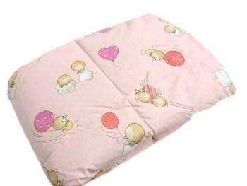 Trapuntina Baby 110x140cm PULCINI Rosa-0