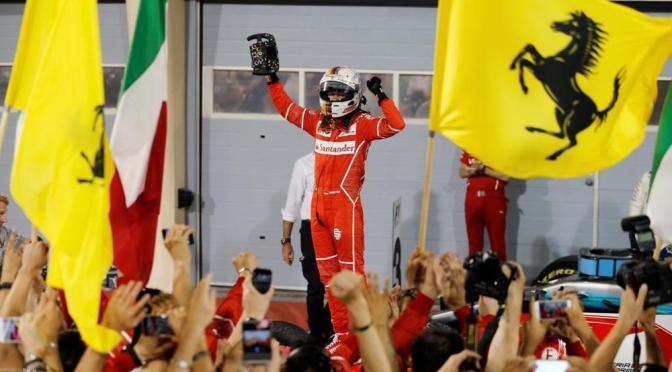 Vettel fa il miracolo in Bahrain ed evita il disastro