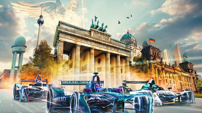 High Voltage Bring- 2018 BMW i Berlin e-Prix