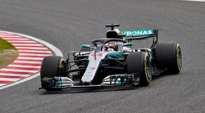 Hamilton e la Mercedes stravincono in Giappone, la Ferrari affonda
