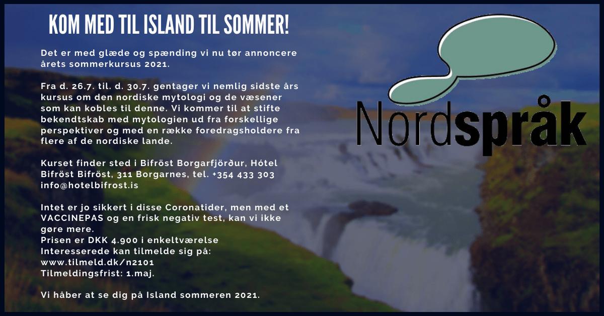 Kom med til Island til sommer!