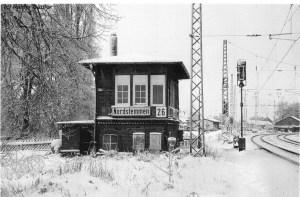 Nordstemmen Stellwerk Schrankwerterhäuschen Zuckerfabrik