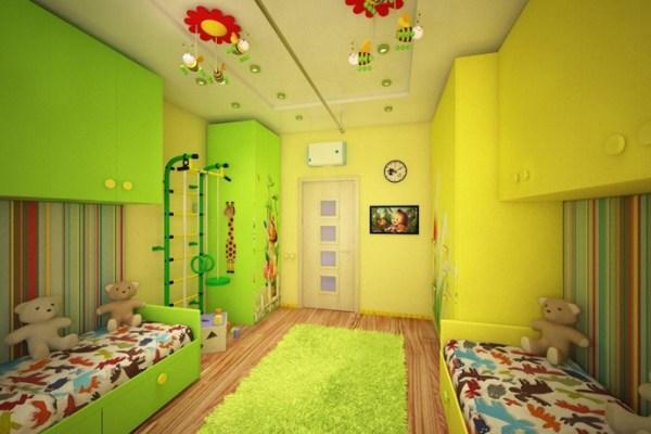 Как сделать детскую комнату для мальчика и девочки ...