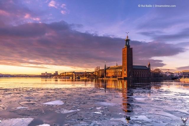 Стокгольмская ратуша. Шведская архитектура