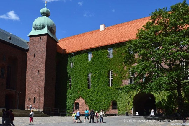 Дворик городской ратуши. Стокгольм