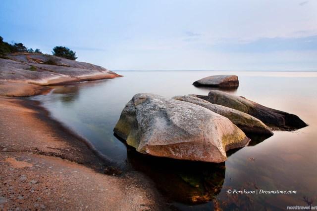 Береговая линия Балтийского моря. Швеция