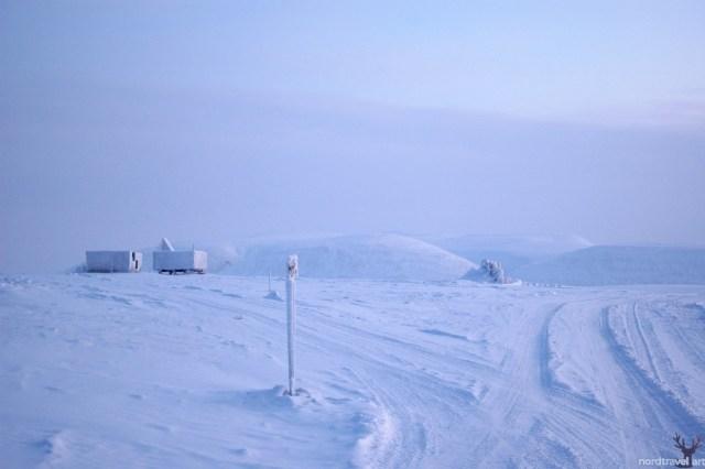 Полярная геологическая станция.