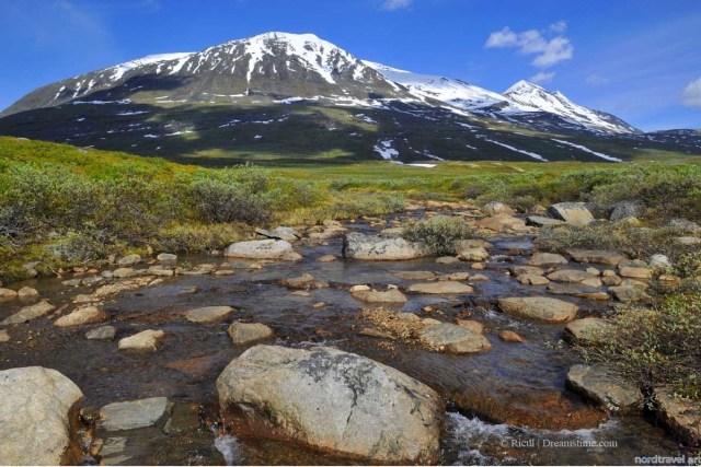 Национальный парк Сарек. Север. Фенноскандия. Скандинавия. Лапландия. Швеция.