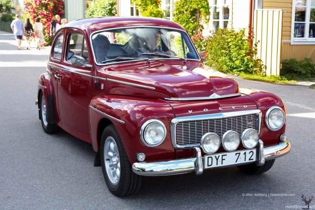 Шведский авто Volvo PV 544,