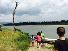 view of the Rio Napo (Napo River)