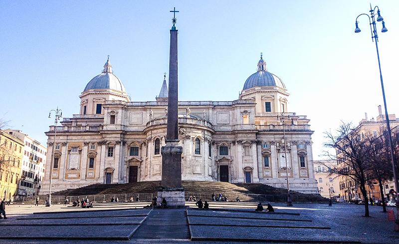 Byggnad Rom