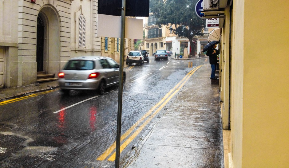 regn på malta