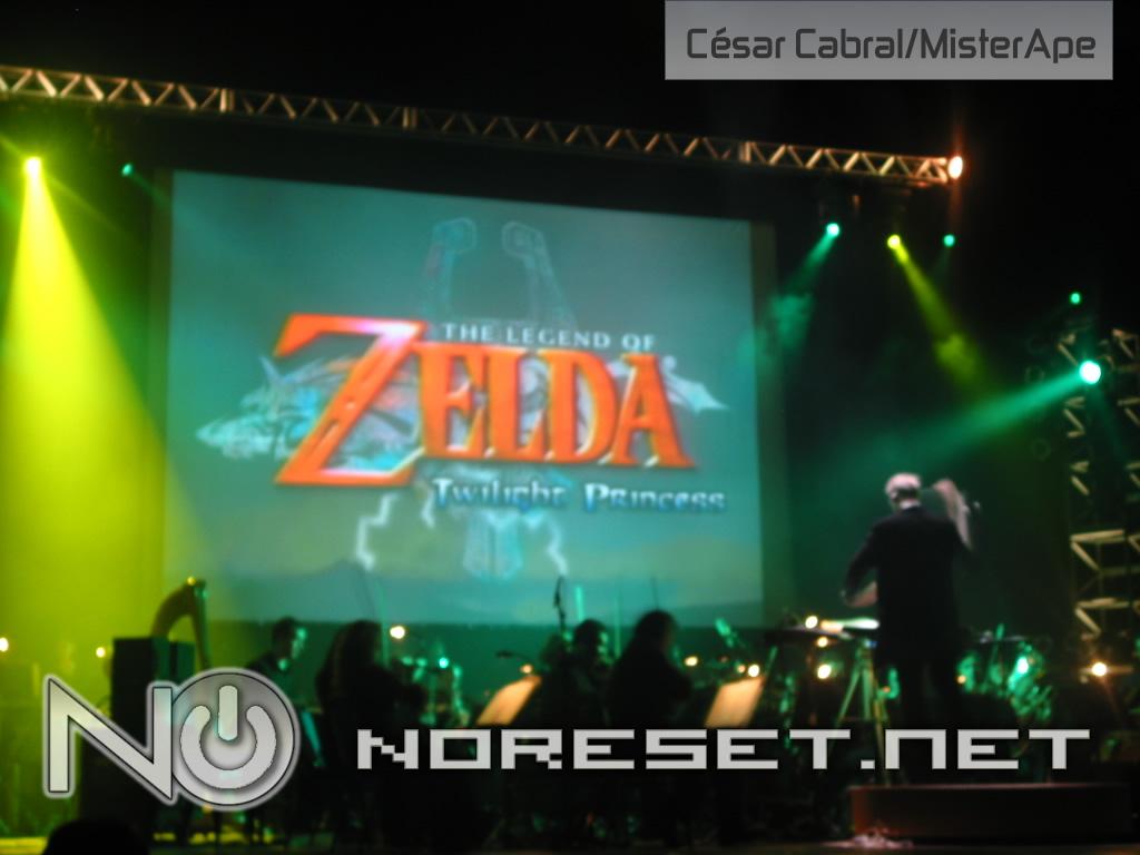 Zelda também emocionou a galera