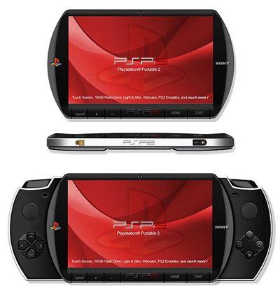 Essa imagem é um conceito desenvolvido por um fanático por PSP