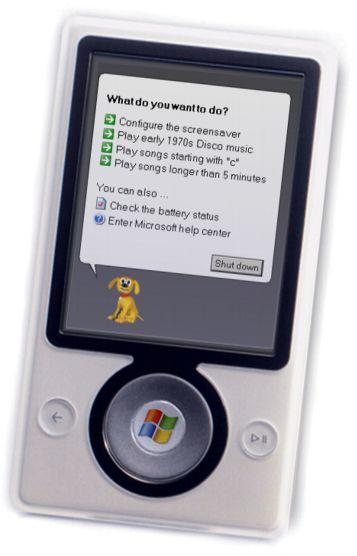 Zune vendeu apenas 2 milhões nos EUA. Já o iPod está na mão de 200 milhões de consumidores