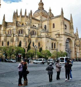 Catedral Gótica De Segovia